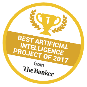 Best Artificial Intelligence project of 2017 from The Banker - Chatbot imaginBank